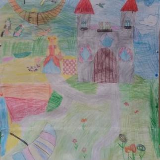 Bajkowy zamek i jego mieszkańcy