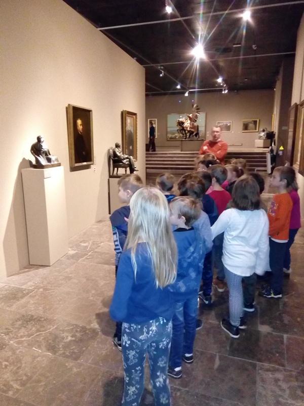 Pierwszaki w Muzeum Narodowym
