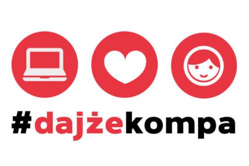 Sprzęt komputerowy do nauki w ramach akcji #DajżeKompa