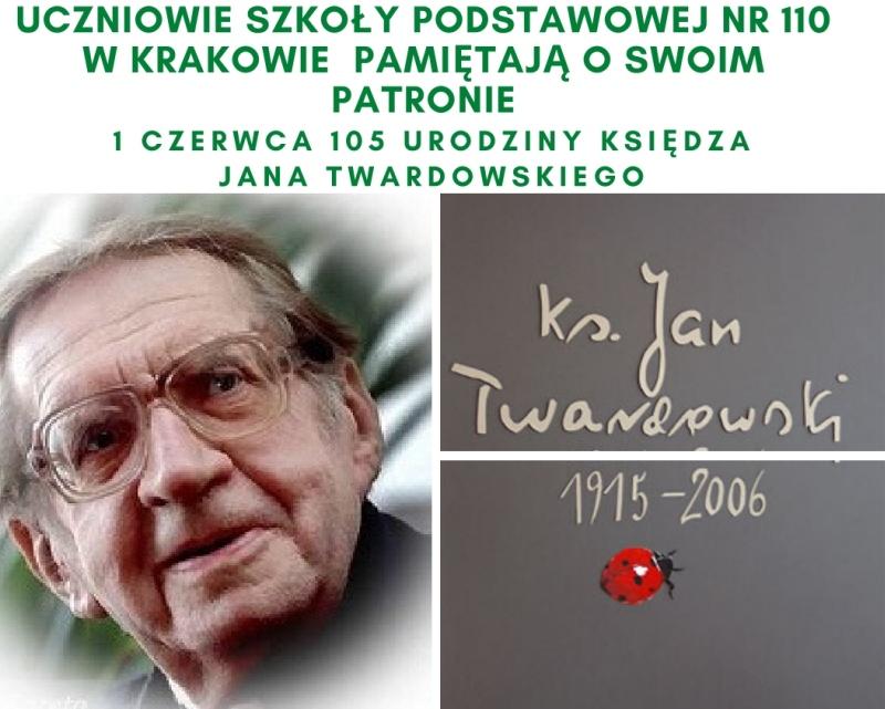 Urodziny Patrona Szkoły Księdza Jana Twardowskiego