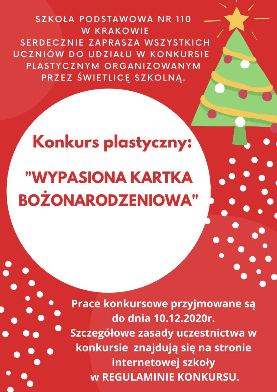 Wypasiona Kartka Bożonarodzeniowa