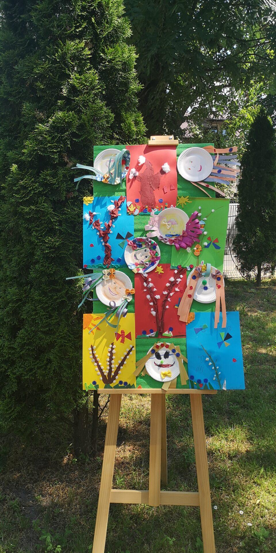 Wystawa prac uczniów ze świetlicy szkolnej